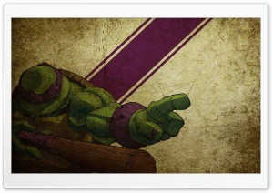 Donatello Teenage Mutant Ninja Turtles Ultra HD Wallpaper for 4K UHD Widescreen desktop, tablet & smartphone