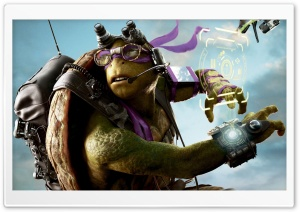 Donatello TMNT Out Of The Shadows HD Wide Wallpaper for 4K UHD Widescreen desktop & smartphone