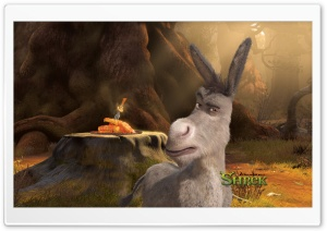 Donkey, Shrek Forever After Ultra HD Wallpaper for 4K UHD Widescreen desktop, tablet & smartphone