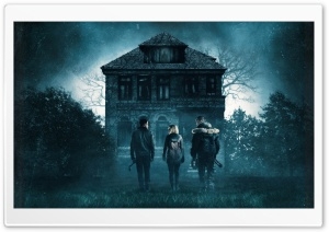 Dont Breathe 2016 Horror Movie HD Wide Wallpaper for Widescreen