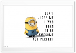 Dont Judge Me HD Wide Wallpaper for Widescreen