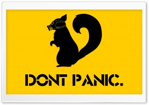 Dont Panic HD Wide Wallpaper for Widescreen