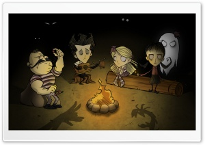 Dont Starve Fanart HD Wide Wallpaper for Widescreen