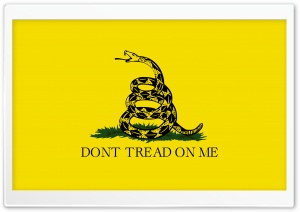 DONT TREAD ON ME HD Wide Wallpaper for 4K UHD Widescreen desktop & smartphone