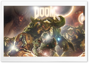 Doom 4 HD Wide Wallpaper for 4K UHD Widescreen desktop & smartphone