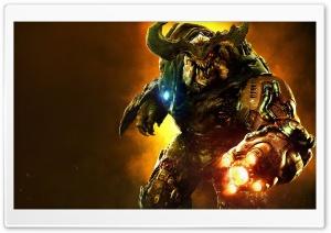 Doom Cyber Demon HD Wide Wallpaper for Widescreen