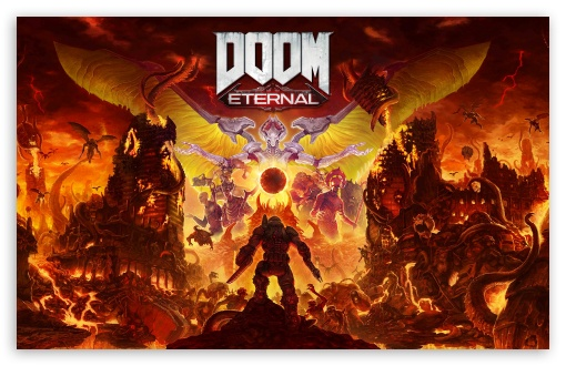 Doom Eternal Video Game 2020 Ultra Hd Desktop Background Wallpaper For 4k Uhd Tv Widescreen Ultrawide Desktop Laptop Tablet Smartphone