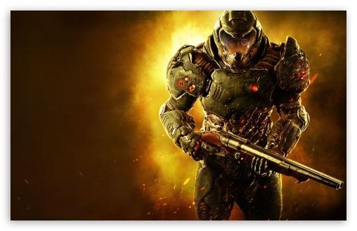 Doom 4k Hd Desktop Wallpaper For 4k Ultra Hd Tv Wide