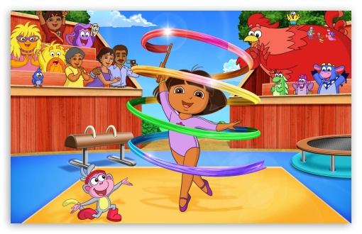 Dora the explorer doras fantastic gymnastics adventure 4k hd download dora the explorer doras fantastic gymnastics hd wallpaper voltagebd Image collections