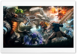 Dota 2 HD Wide Wallpaper for Widescreen