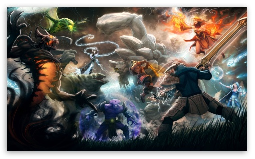Dota 2 HD wallpaper for Wide 5:3 Widescreen WGA ; HD 16:9 High Definition WQHD QWXGA 1080p 900p 720p QHD nHD ; Mobile 5:3 16:9 - WGA WQHD QWXGA 1080p 900p 720p QHD nHD ;