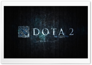 DotA 2 Blue Edition HD Wide Wallpaper for Widescreen