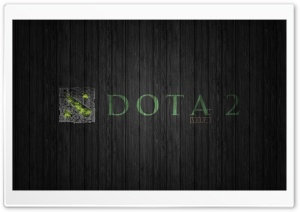 DotA 2 Green Edition HD Wide Wallpaper for Widescreen