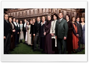 Downton Abbey TV Series Cast HD Wide Wallpaper for Widescreen