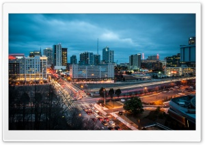 Downtown Atlanta HD Wide Wallpaper for Widescreen