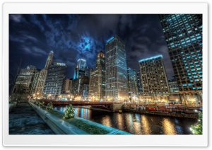 Downtown Chicago HD Wide Wallpaper for Widescreen