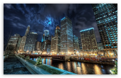 Downtown Chicago HD wallpaper for Wide 16:10 5:3 Widescreen WHXGA WQXGA WUXGA WXGA WGA ; HD 16:9 High Definition WQHD QWXGA 1080p 900p 720p QHD nHD ; Standard 4:3 3:2 Fullscreen UXGA XGA SVGA DVGA HVGA HQVGA devices ( Apple PowerBook G4 iPhone 4 3G 3GS iPod Touch ) ; Tablet 1:1 ; iPad 1/2/Mini ; Mobile 4:3 5:3 3:2 16:9 - UXGA XGA SVGA WGA DVGA HVGA HQVGA devices ( Apple PowerBook G4 iPhone 4 3G 3GS iPod Touch ) WQHD QWXGA 1080p 900p 720p QHD nHD ;