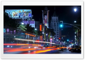 Downtown LA HD Wide Wallpaper for Widescreen