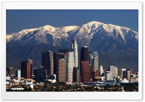 Downtown Los Angeles HD Wide Wallpaper for Widescreen