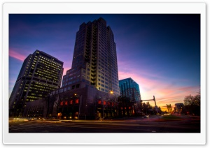 Downtown Sacramento HD Wide Wallpaper for 4K UHD Widescreen desktop & smartphone
