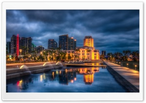 Downtown San Diego HD Wide Wallpaper for 4K UHD Widescreen desktop & smartphone