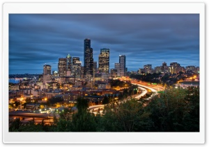 Downtown Seattle HD Wide Wallpaper for 4K UHD Widescreen desktop & smartphone