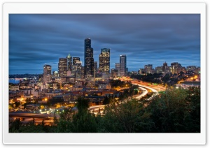 Downtown Seattle HD Wide Wallpaper for Widescreen