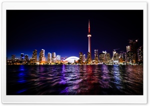 Downtown Toronto HD Wide Wallpaper for 4K UHD Widescreen desktop & smartphone