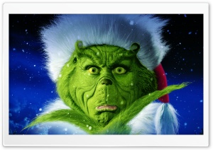 Dr. Seuss' How the Grinch Stole Christmas HD Wide Wallpaper for Widescreen