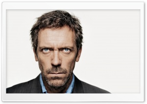 Dr House Hugh Laurie HD Wide Wallpaper for 4K UHD Widescreen desktop & smartphone