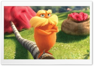 Dr Seuss' The Lorax (2012) HD Wide Wallpaper for Widescreen