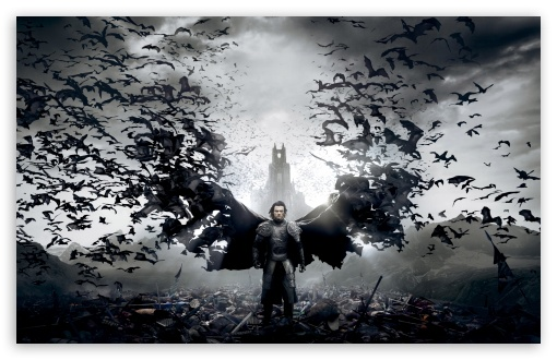 Dracula Untold Retina Movie Wallpaper: Dracula Untold Luke Evans 4K HD Desktop Wallpaper For 4K