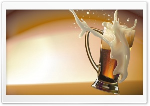 Draft Beer HD Wide Wallpaper for Widescreen