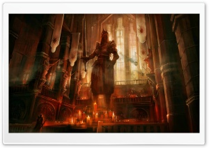 Dragon Age 2 Chantry HD Wide Wallpaper for Widescreen