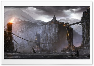 Dragon Age 2 Concept Art HD Wide Wallpaper for Widescreen