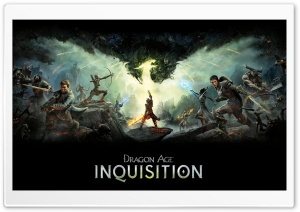 Dragon Age Inquisition Ultra HD Wallpaper for 4K UHD Widescreen desktop, tablet & smartphone