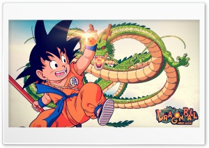 Dragon Ball - HD Wallpaper by Chaker Design HD Wide Wallpaper for 4K UHD Widescreen desktop & smartphone