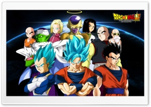 Dragon Ball Super HD Wide Wallpaper for 4K UHD Widescreen desktop & smartphone