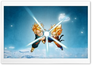 Dragon Ball Trunks Son Goten HD Wide Wallpaper for 4K UHD Widescreen desktop & smartphone
