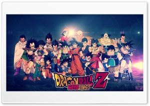 Dragon Ball Z - HD Wallpaper by Chaker Design HD Wide Wallpaper for 4K UHD Widescreen desktop & smartphone