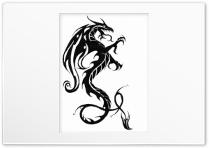 Dragon Logo HD Wide Wallpaper for Widescreen