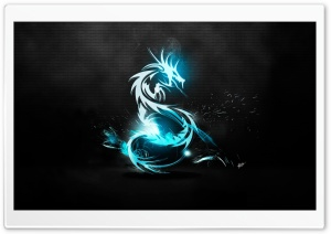Dragon Symbol Ultra HD Wallpaper for 4K UHD Widescreen desktop, tablet & smartphone