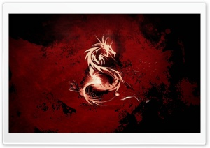 Dragon Symbol HD Wide Wallpaper for Widescreen