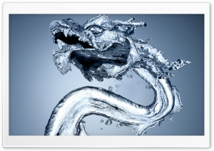 Dragon Water HD Wide Wallpaper for Widescreen