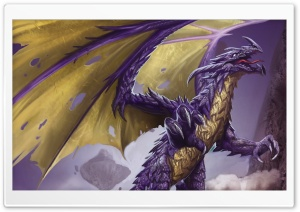 Dragon With Claws HD Wide Wallpaper for Widescreen