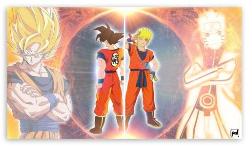 Dragonball X Naruto Ultra Hd Desktop Background Wallpaper For 4k Uhd Tv