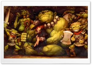 Dragons Crown Goblins HD Wide Wallpaper for 4K UHD Widescreen desktop & smartphone