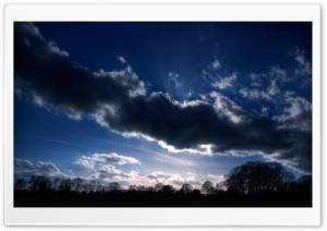 Dramatic Clouds HD Wide Wallpaper for Widescreen