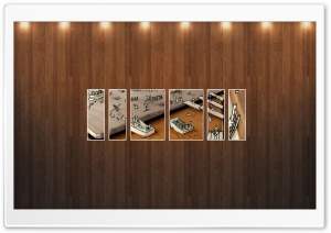 Drawing Picture   Wood Wall HD Wide Wallpaper for Widescreen