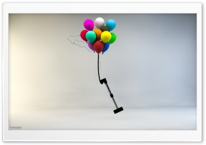 Dream of balloons Ali Ghasaby HD Wide Wallpaper for 4K UHD Widescreen desktop & smartphone